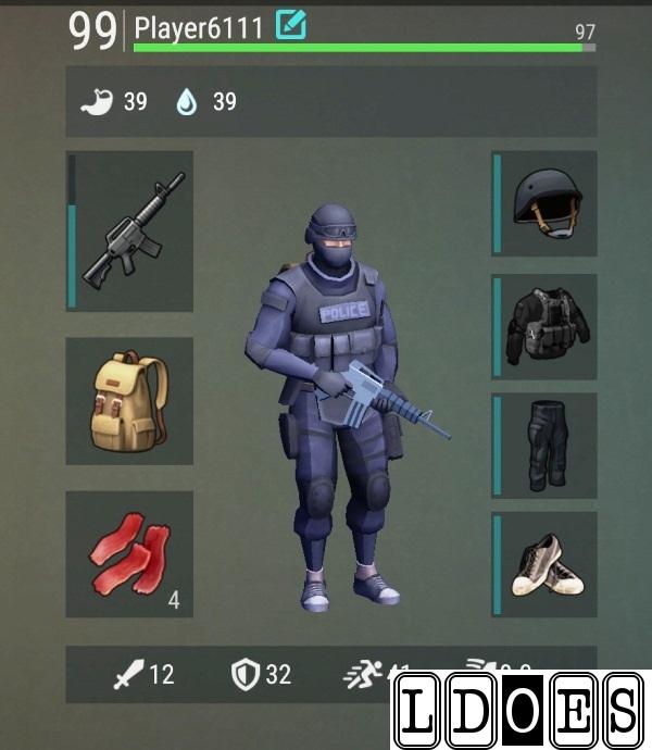 Игрок 99 уровня
