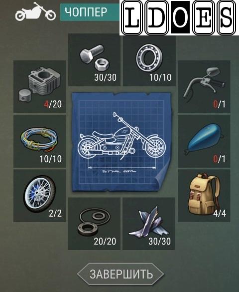 Мотоцикл рецепт